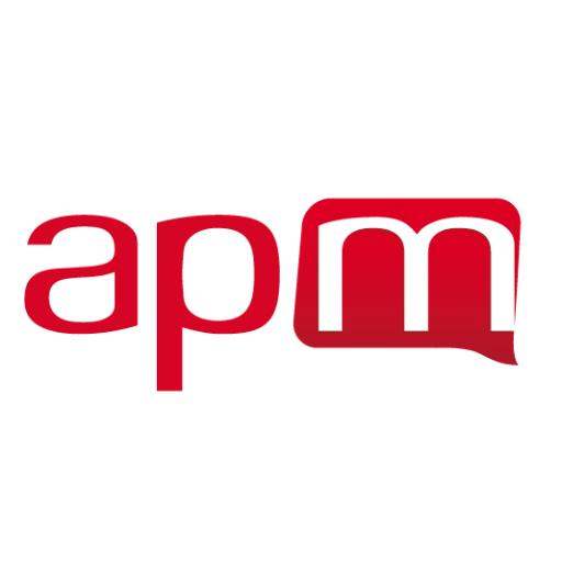 Logo APM Nîmes animation des réseaux avec La Courbe Verte