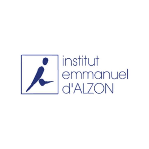 Logo Institut Emmanuel d'Alzon organisation TEDx avec La Courbe Verte
