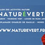 Organisation et recherche d'exposants par La Courbe Verte pour le Salon grand public : NATURÉVERT