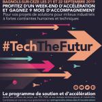 Organisation de l'événement Tech The Futur par Vincent Martin La Courbe Verte à Alès